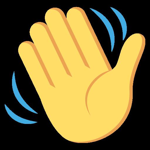Waving Hand Sign