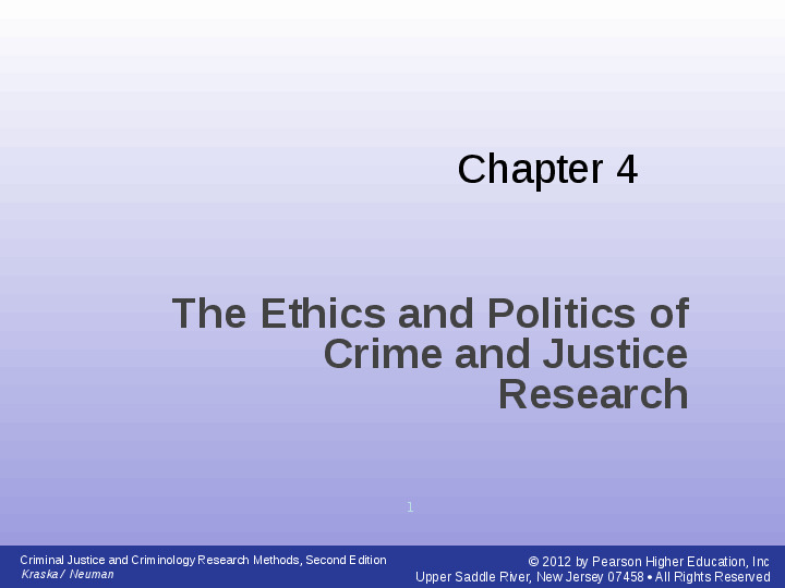 a reaction to criminal justice research methods of data research Research methods in criminal justice and criminology discuss and explain the challenges of data management and the obstacles to criminal justice research and.