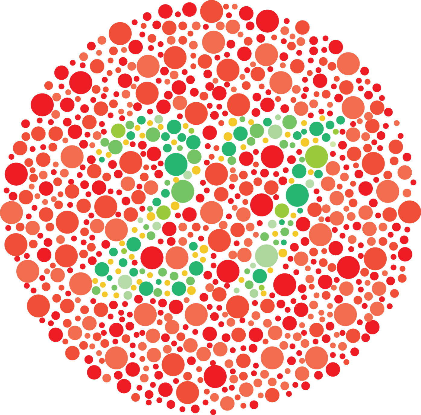Image result for how to test red green color blindness