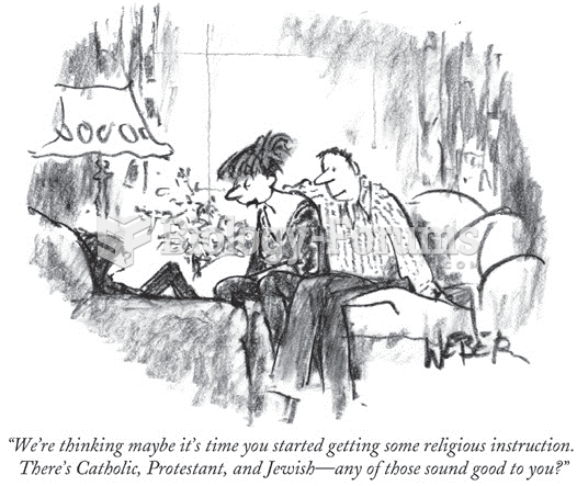 """For some Americans, religion is an """"easy-going, makes-little-difference"""" matter, as expressed in ..."""