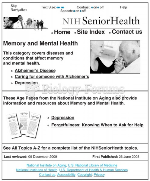 National Institute on Aging Web site is designed to be easy to use by older adults. It utilizes ...