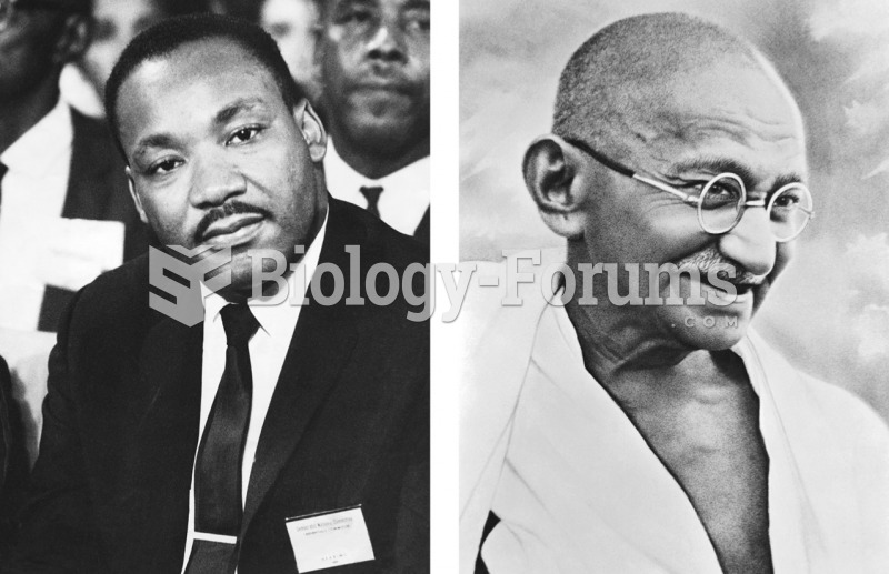 According to Kohlberg's theory, only a few individuals, such as Martin Luther King, Jr. (left) and ...