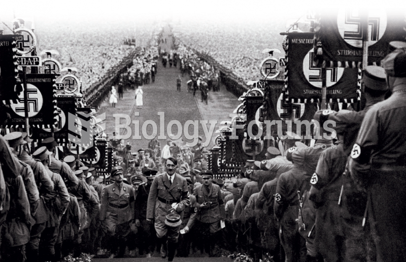 Adolf Hitler, shown here in Nuremberg in 1938, was one of the most influential—and evil—persons ...