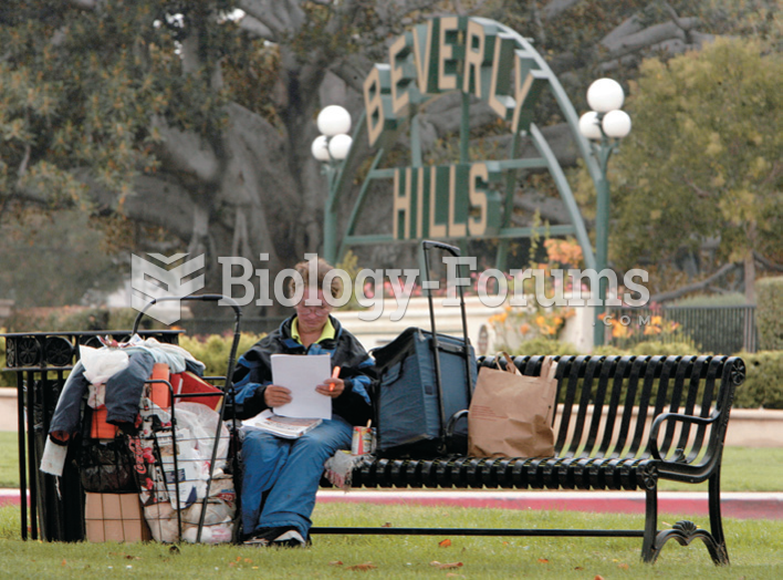 Homeless woman with her possessions on a park bench in Beverly Hills, California. The contrast ...