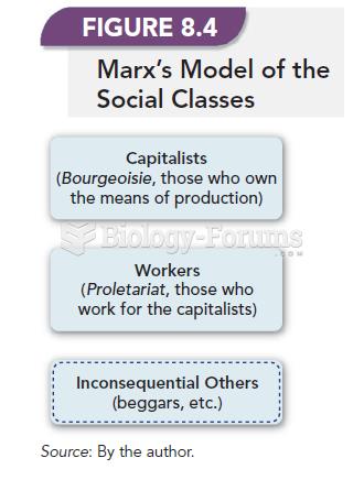 Marx's Model Of The Social Classes