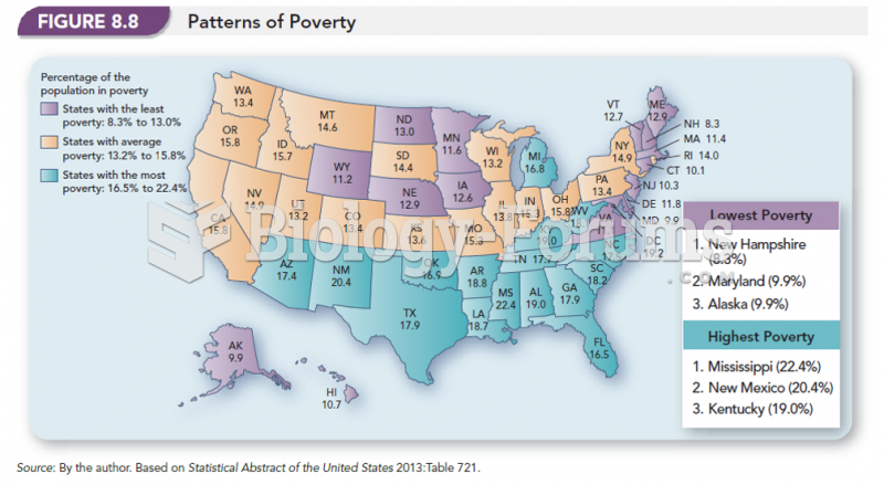 Patterns of Poverty