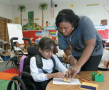 Children with disabilities used to be sent to special schools. In a process called mainstreaming or ...