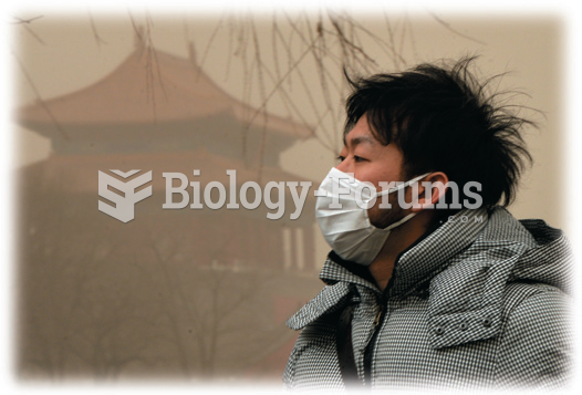 Pollution in the Industrializing Nations has become a major problem. The air in Beijing is hazardous ...