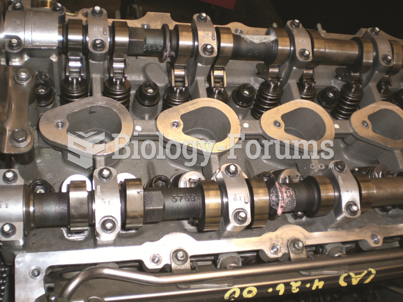 A DOHC engine uses a camshaft for the intake valve and a separate camshaft for the exhaust valves in ...
