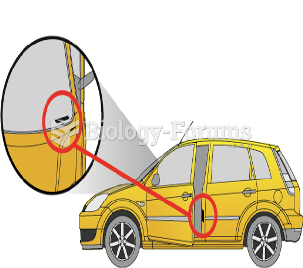 The vehicle identification number (VIN)  is visible through the base of the windshield and on a ...