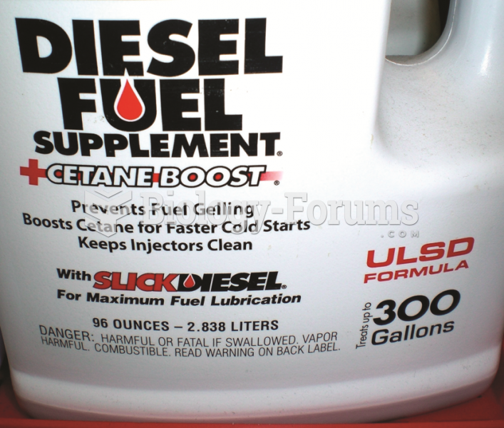 Many diesel fuel additives increase the cetane rating which results in improved fuel economy.