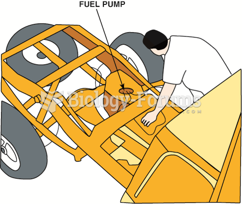 Removing the bed from a pickup truck makes gaining access to the fuel pump a lot easier.