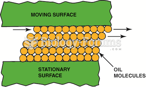 Oil molecules cling to metal surfaces  but easily slide against each other.