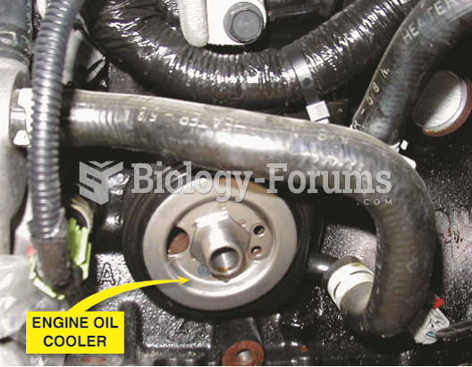A typical engine oil cooler. Engine  coolant flows through the cooler adjuster that fits between the ...