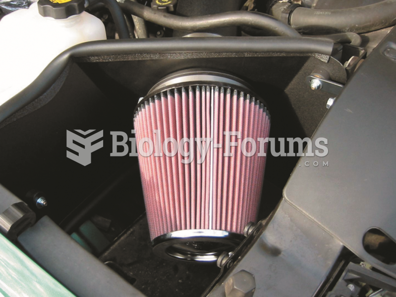 A high-performance aftermarket air  filter often can increase airflow into the engine for  more ...