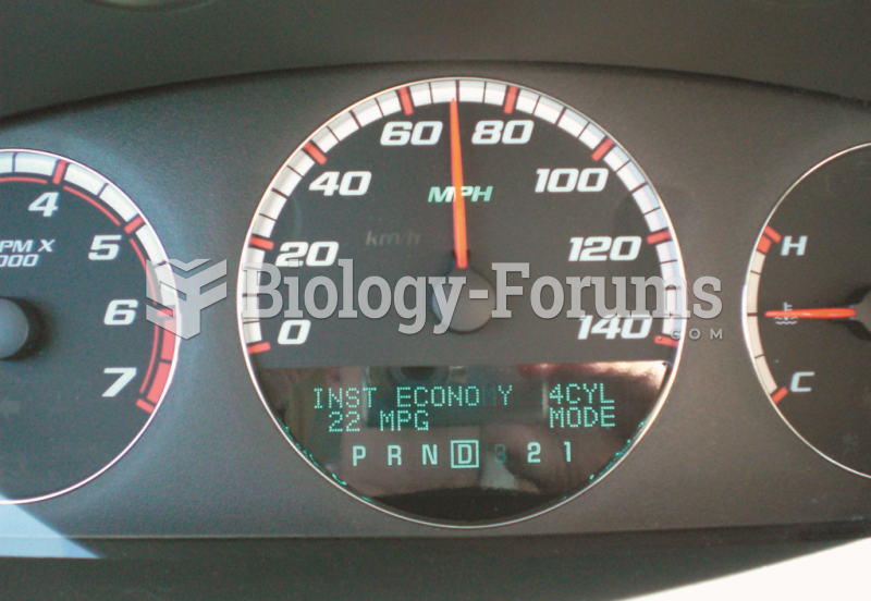 The driver information display on a Chevrolet Impala with a 5.3 liter V-8 equipped with  active fuel ...