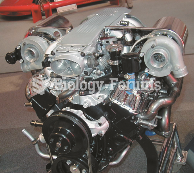 A dual turbocharger system installed  on a small block Chevrolet V-8 engine.