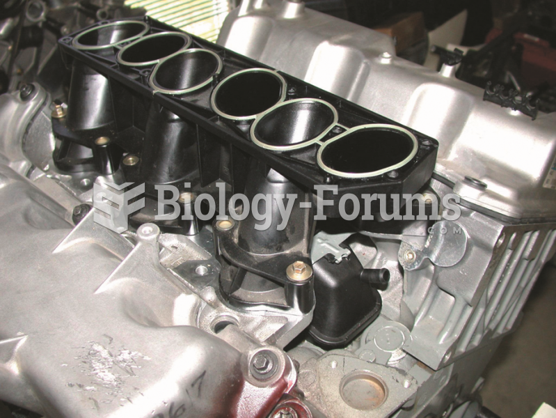 The lower intake manifold attaches  to the cylinder heads.
