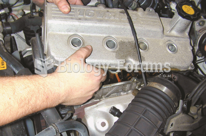 With all vacuum lines and the intake tube removed, the valve cover can be removed after removing all ...