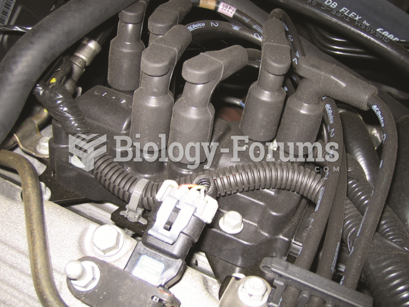 When checking a waste spark-type ignition system, check that the secondary wires are attached to the ...