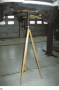 Tall safety stands can be used to  provide additional support for the vehicle while on  the hoist.