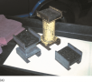 An assortment of hoist pad adaptors  that are often needed to safely hoist many pickup  trucks, ...