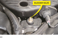 Chrysler recommends that the bleeder valve be opened whenever refilling the cooling system.