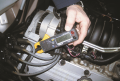 A mini clamp-on digital multimeter  can be used to measure alternator output and unwanted AC current ...