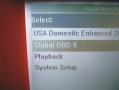 Global OBD II can be accessed from  the main menu on all aftermarket and some original equipment ...