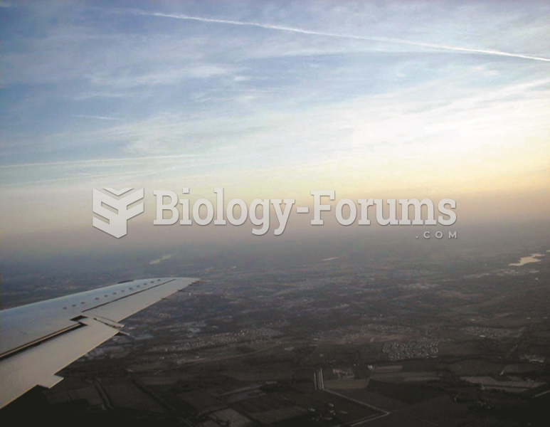 Notice the reddish-brown haze caused  by nitrogen oxides that is often over many major cities.