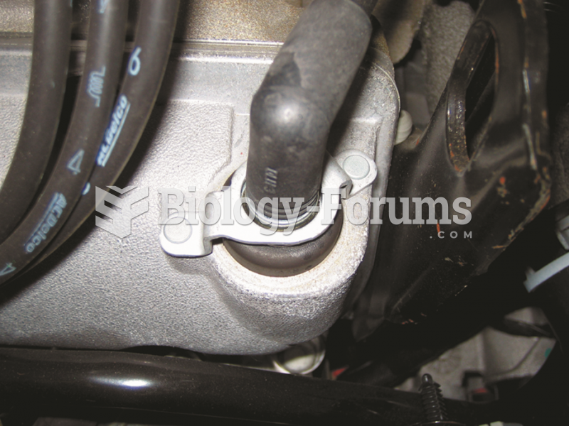 Most PCV valves used on newer  vehicles are secured with fasteners, which makes it  more difficult ...
