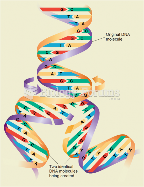 DNA replication. As the two strands of the original DNA molecule unwind, the nucleotide bases on ...