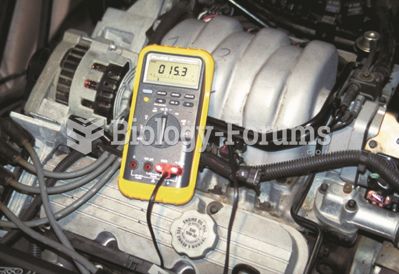 To measure fuel-injector resistance,  a technician constructed a short wiring harness with  a double ...