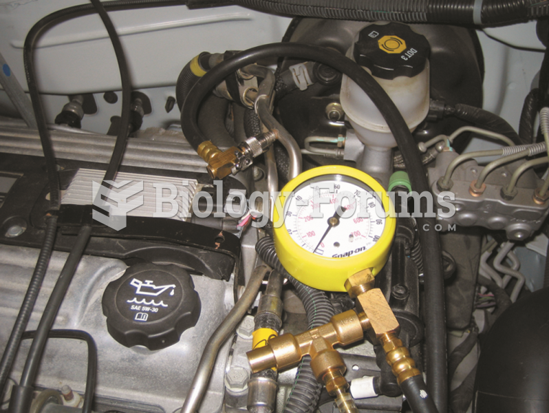 Connect a fuelpressure gauge to the  fuel rail at the Schrader valve.