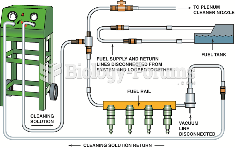A typical two-line cleaning machine hookup, showing an extension hose that can be used  to squirt a ...