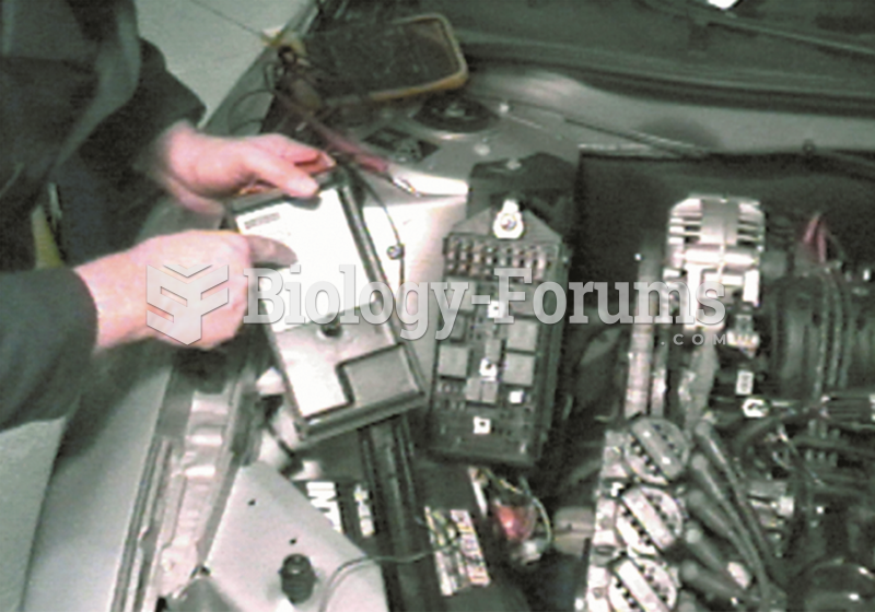 Start the diagnosis by locating the relay center. It  is under the hood on this General Motors ...