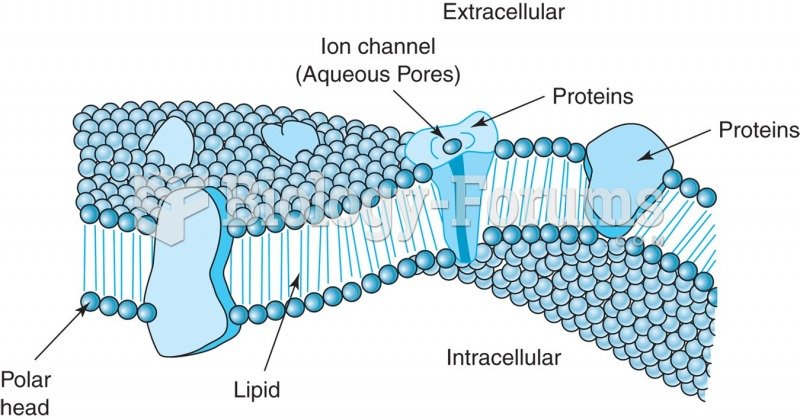 Diagram of a cell membrane. The cell membrane is a double layer of phospholipid molecules with ...