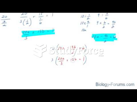 How to solve a linear system when the variable is in the denominator position (Question 1 of 2)