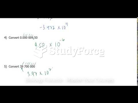 How to write any number in scientific notation