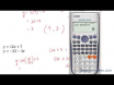 How to solve a linear system by the substitution method