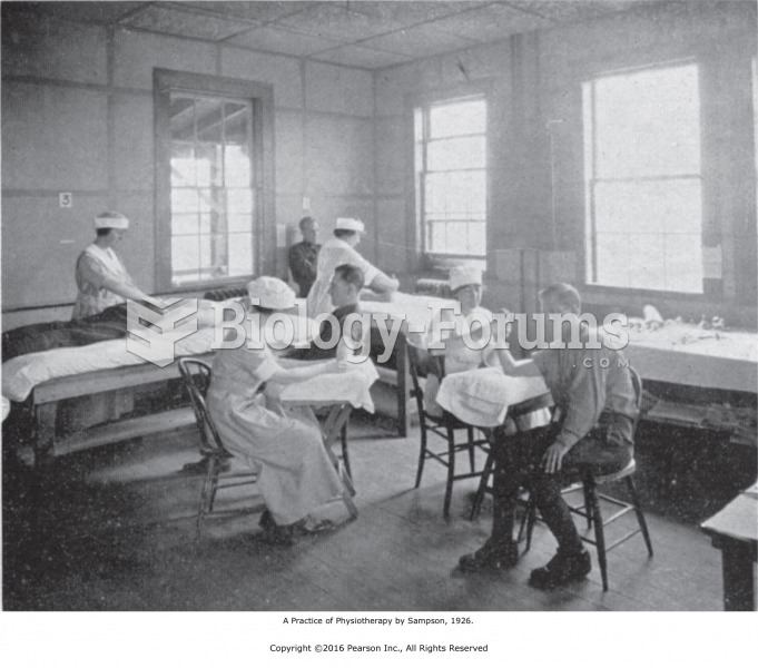 A Corner of the General Massage Section of an Army Hospital. A Practice of Physiotherapy by Sampson, ...