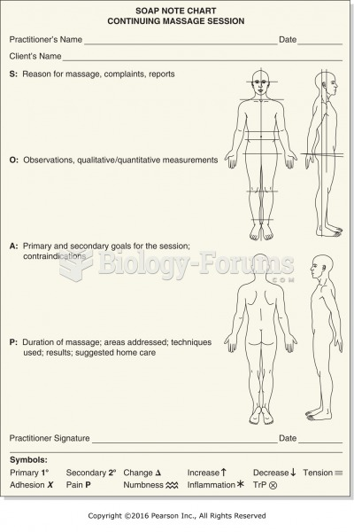 Example of SOAP chart with body diagram.
