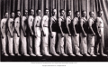 """Masseurs and Trainers from the Postl Heath Club in Chicago. A """"Physical Training for the Tired ..."""
