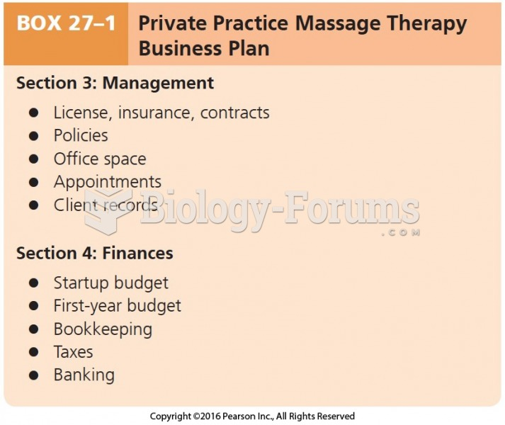 Private Practice Massage Therapy Business Plan Cont