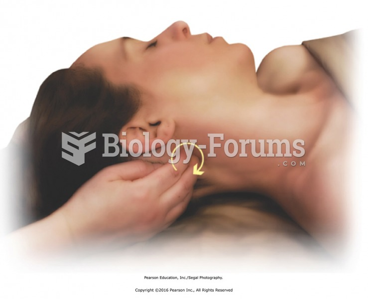 Apply circular friction and direct pressure to suboccipital muscles one side at a time.Turn head to ...