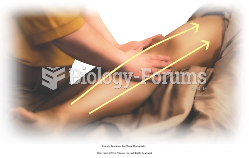 Apply oil or lotion to the entire leg with effleurage. Use light to medium pressure to warm ...