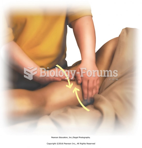 Longitudinal and horizontal effleurage to the thigh. Apply with medium pressure to warm tissues.