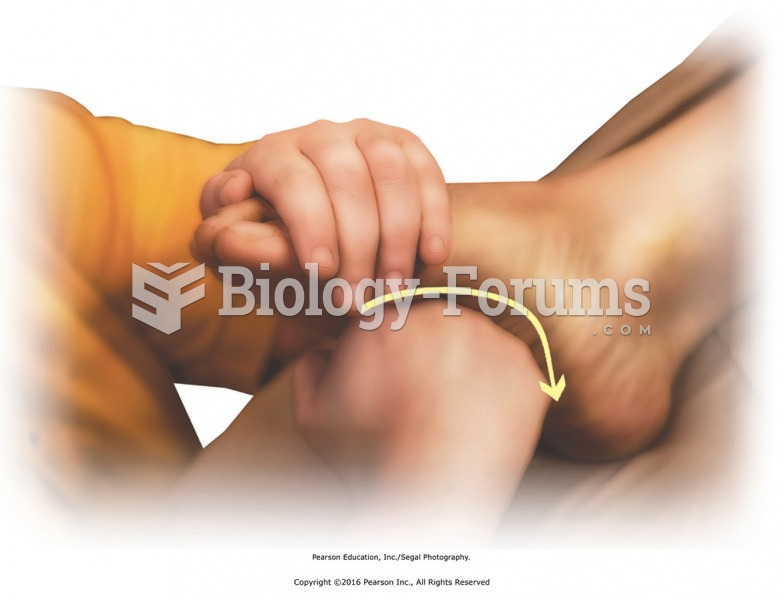 Effleurage to the foot bottom using the fist. Hold the dorsal surface of the foot with one hand ...