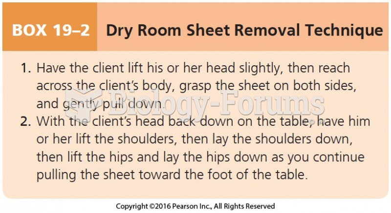 Dry Room Sheet Removal Technique