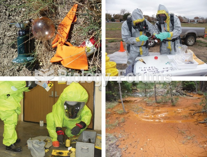 Four hazardous materials incidents. Clockwise from top left: a clandestine drug lab dump site, ...